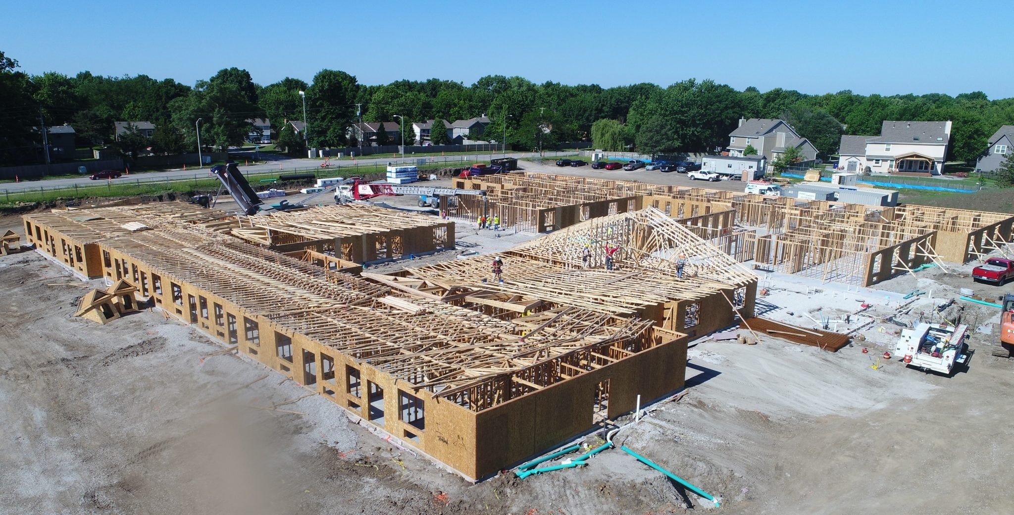 Retirement Community Framing | Benton House | Kansas City Framing
